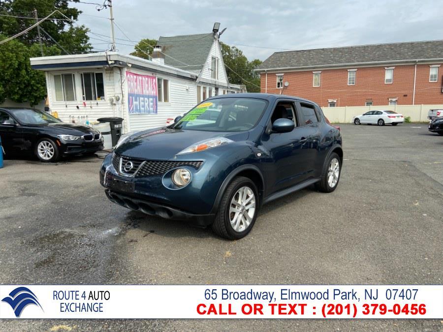 Used Nissan JUKE 5dr Wgn CVT SV AWD 2013   Route 4 Auto Exchange. Elmwood Park, New Jersey