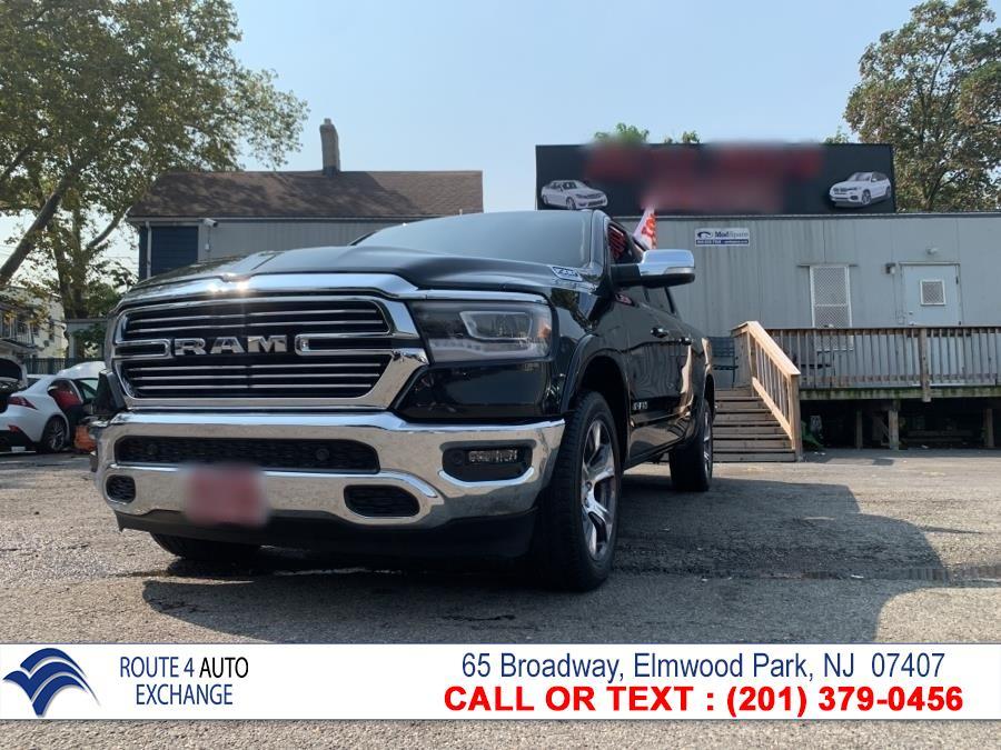 """Used Ram 1500 Laramie 4x4 Crew Cab 5''7"""" Box 2019   Route 4 Auto Exchange. Elmwood Park, New Jersey"""