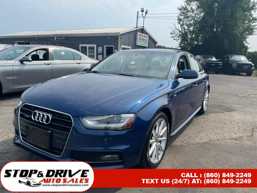 Used 2014 Audi A4 in East Windsor, Connecticut | Stop & Drive Auto Sales. East Windsor, Connecticut