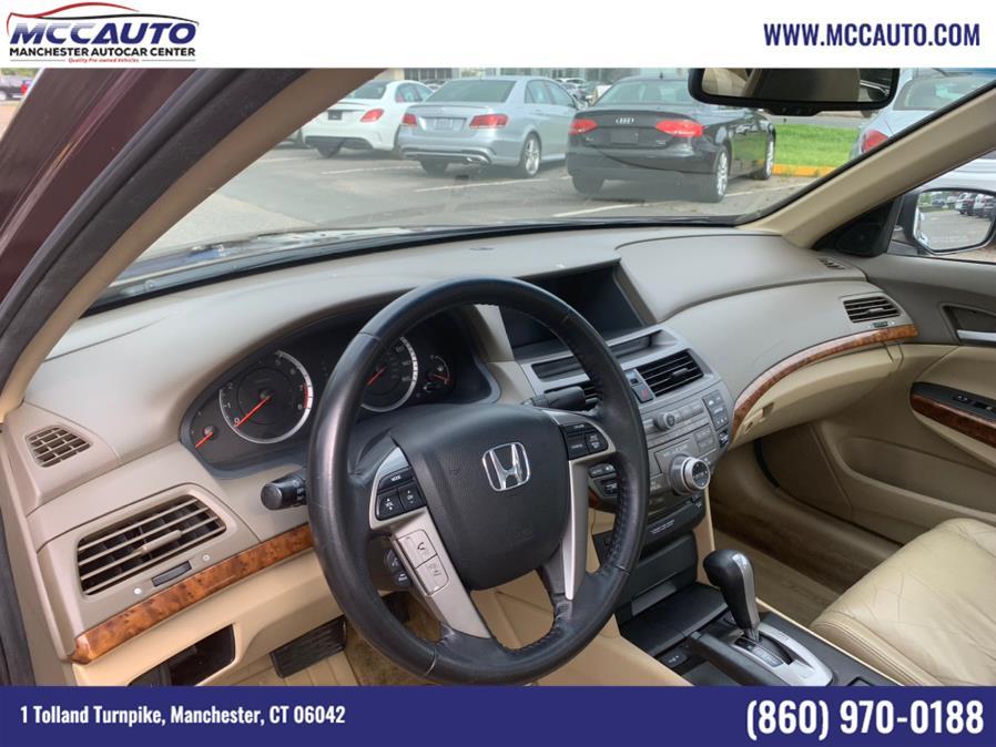 Used Honda Accord Sdn 4dr V6 Auto EX-L 2010 | Manchester Autocar Center. Manchester, Connecticut