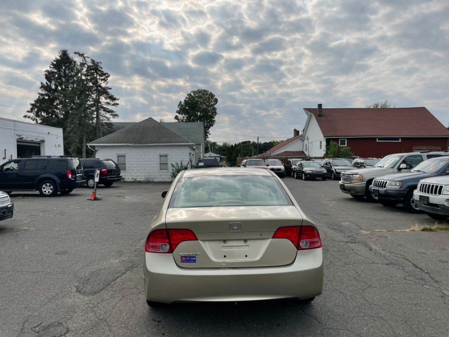 Used Honda Civic Sdn 4dr AT LX 2007   CT Car Co LLC. East Windsor, Connecticut