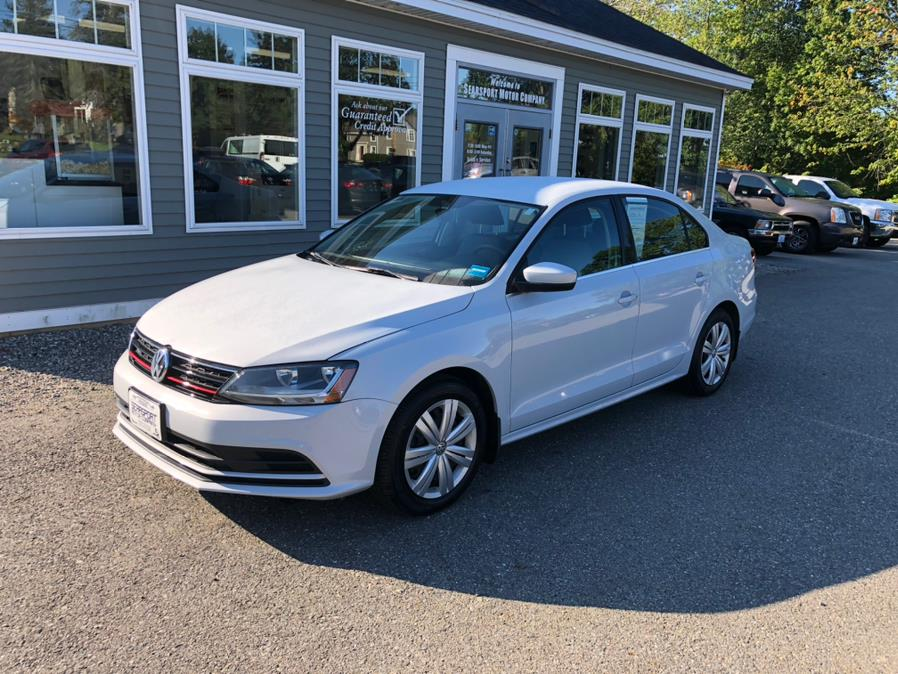 Used Volkswagen Jetta 1.4T S Manual 2017 | Searsport Motor Company. Searsport, Maine