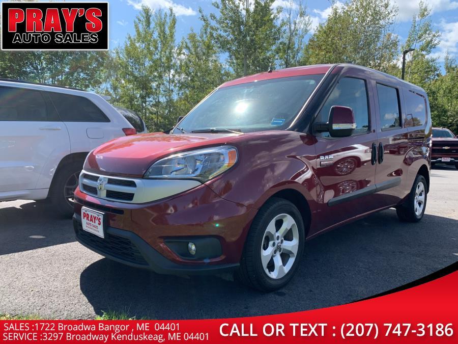 Used Ram ProMaster City Wagon Wagon SLT 2018   Pray's Auto Sales . Bangor , Maine