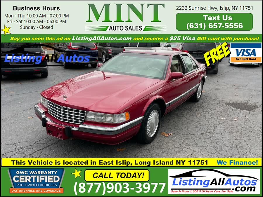 Used 1994 Cadillac Seville in Patchogue, New York | www.ListingAllAutos.com. Patchogue, New York
