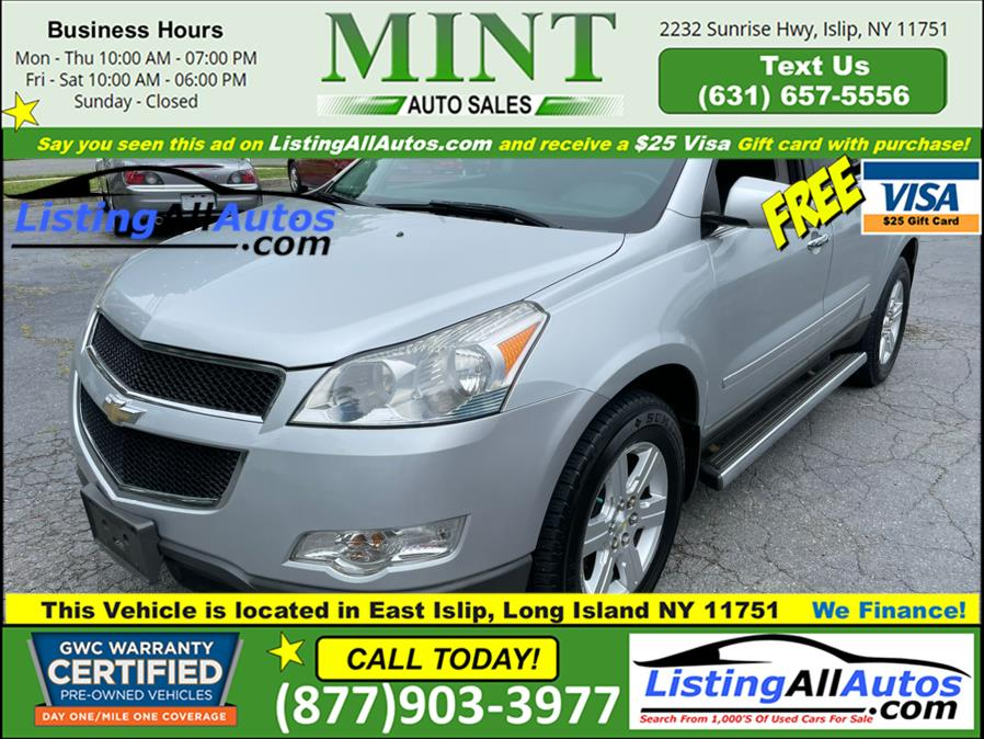 Used 2012 Chevrolet Traverse in Patchogue, New York | www.ListingAllAutos.com. Patchogue, New York