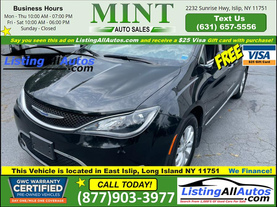 Used 2018 Chrysler Pacifica in Patchogue, New York | www.ListingAllAutos.com. Patchogue, New York