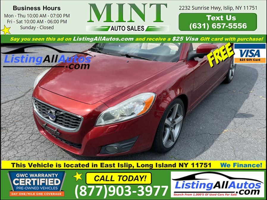 Used 2011 Volvo C70 in Patchogue, New York | www.ListingAllAutos.com. Patchogue, New York