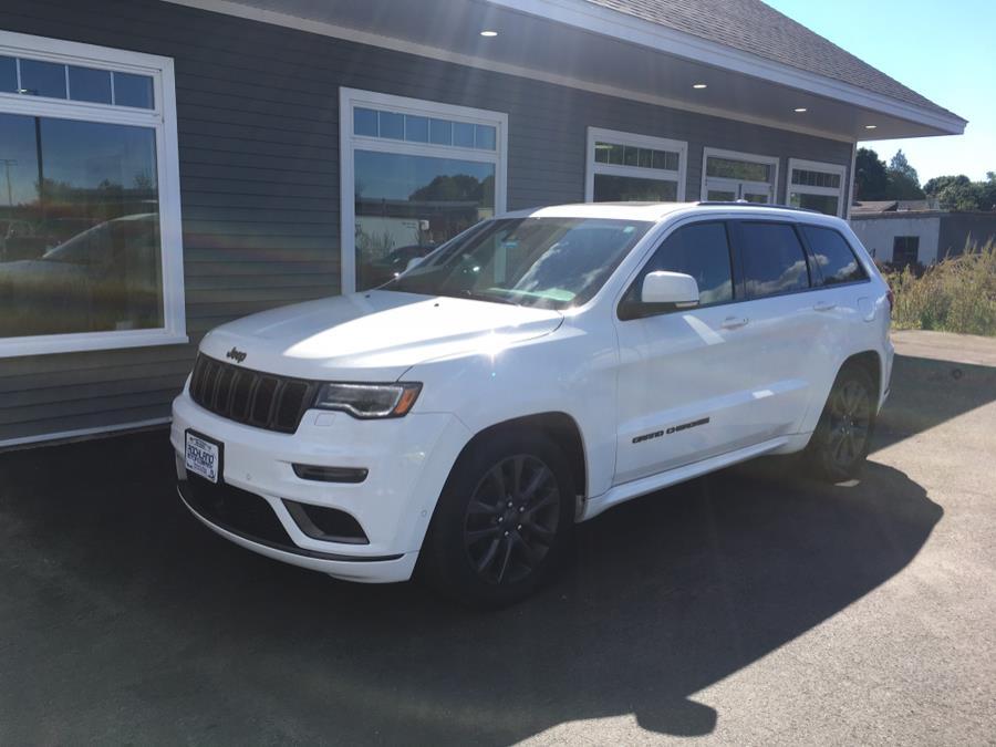 Used Jeep Grand Cherokee Overland 4x4 2018   Rockland Motor Company. Rockland, Maine