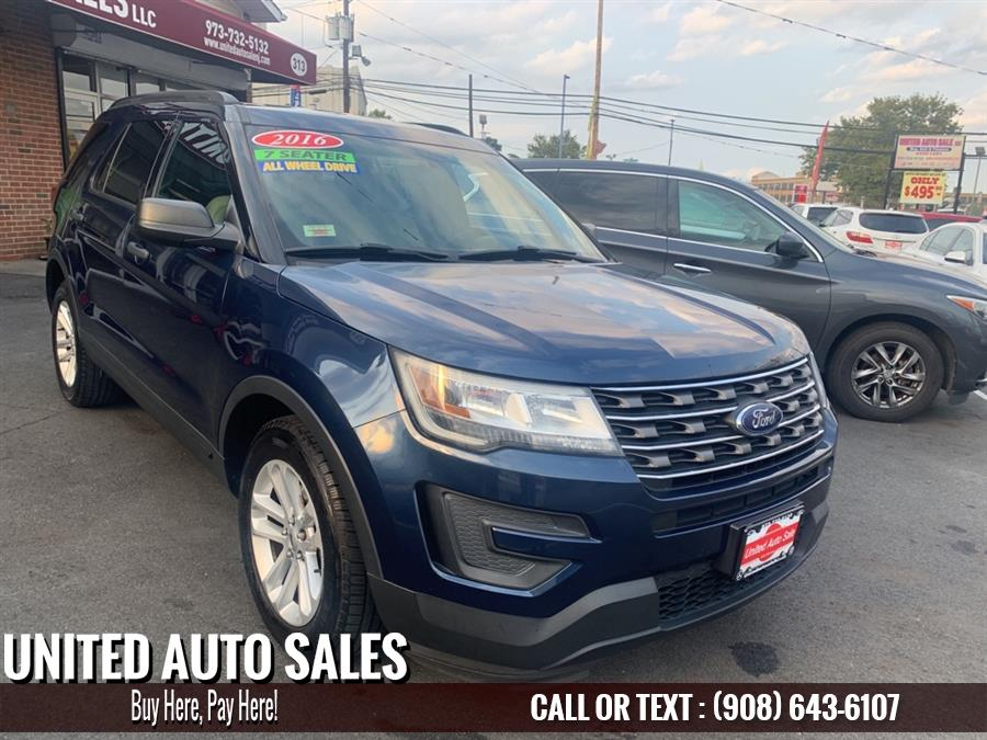 Used Ford Explorer  2016 | United Auto Sale. Newark, New Jersey