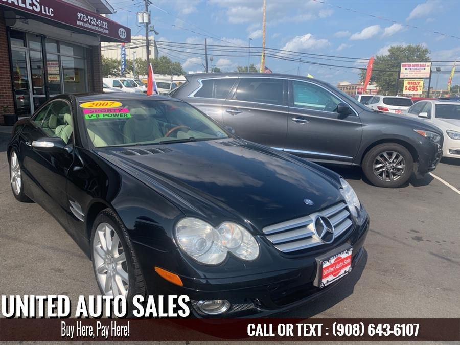 Used Mercedes Benz Sl 550 2007 | United Auto Sale. Newark, New Jersey