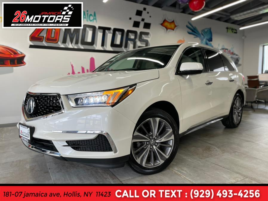 Used Acura MDX SH-AWD w/Technology Pkg 2018   Jamaica 26 Motors. Hollis, New York