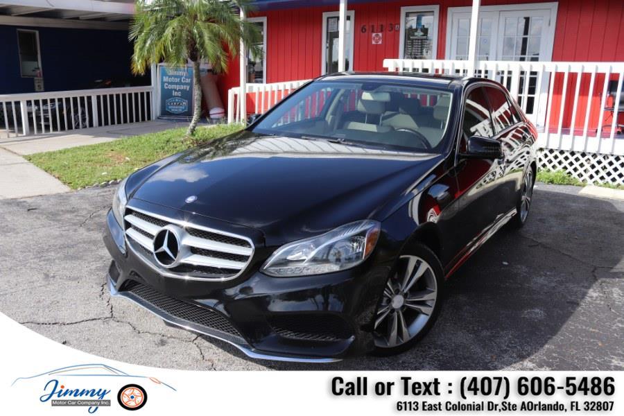 Used Mercedes-Benz E-Class 4dr Sdn E 350 Luxury RWD 2014   Jimmy Motor Car Company Inc. Orlando, Florida