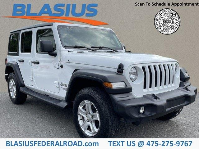 Used Jeep Wrangler Unlimited Sport 2018 | Blasius Federal Road. Brookfield, Connecticut