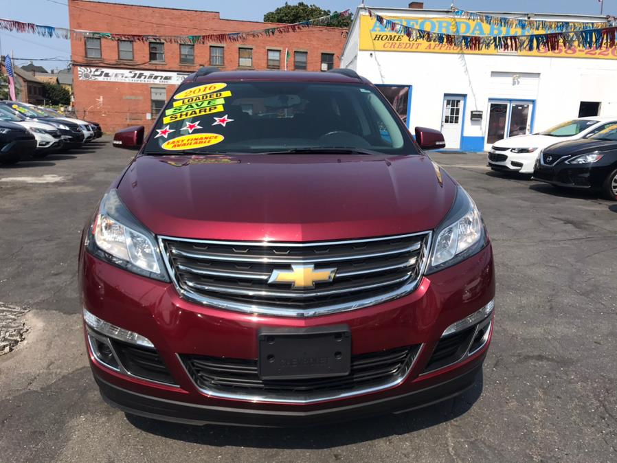2016 Chevrolet Traverse AWD 4dr LT w/1LT, available for sale in Bridgeport, CT