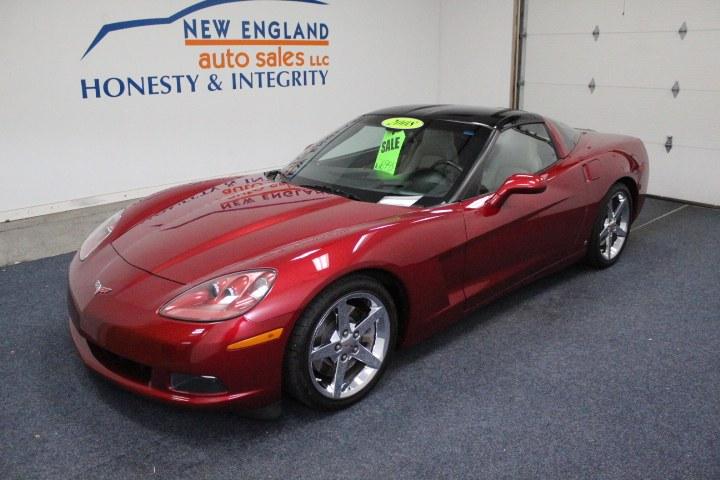 Used Chevrolet Corvette 2dr Cpe 2008   New England Auto Sales LLC. Plainville, Connecticut