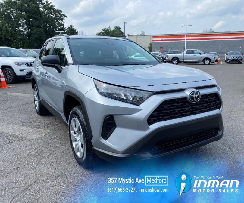 Used Toyota RAV4 LE FWD (Natl) 2021   Inman Motors Sales. Medford, Massachusetts
