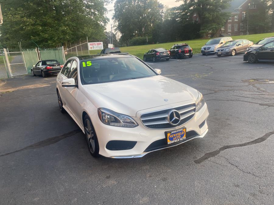 Used Mercedes-Benz E-Class 4dr Sdn E350 Sport 4MATIC 2015   Newfield Auto Sales. Middletown, Connecticut