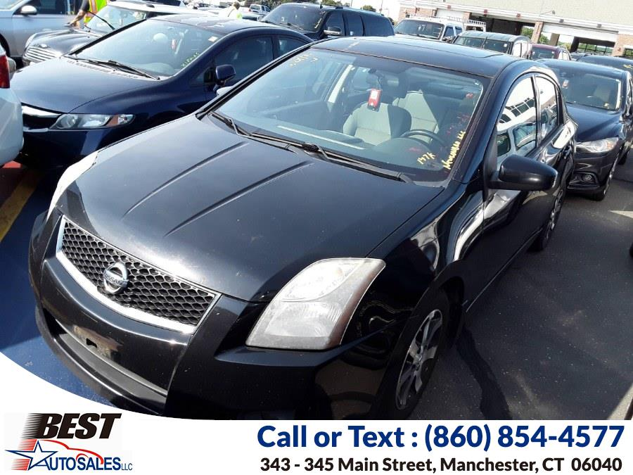 Used Nissan Sentra 4dr Sdn I4 CVT 2.0 S 2012 | Best Auto Sales LLC. Manchester, Connecticut