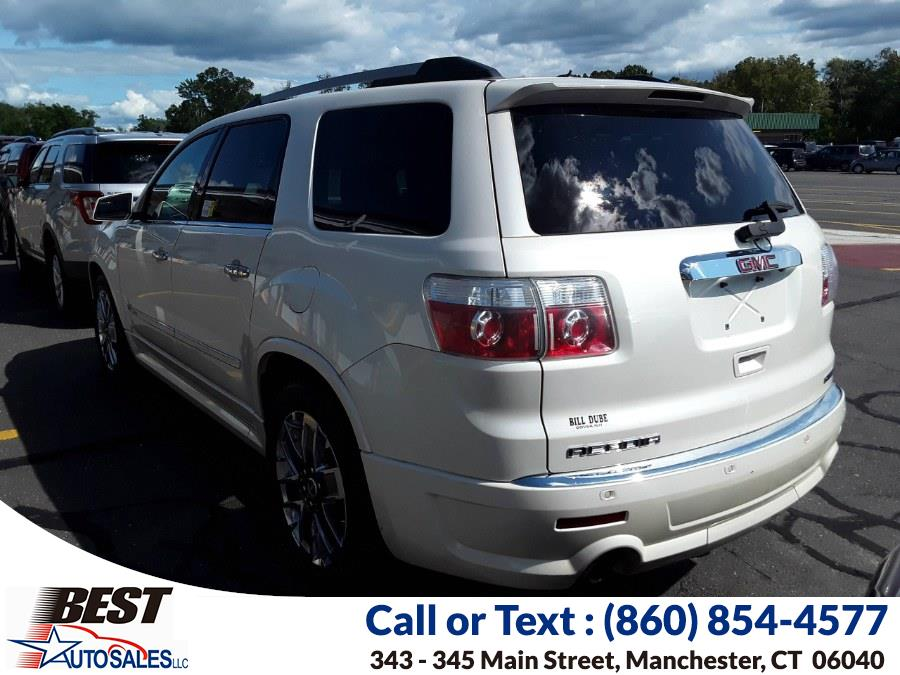 Used GMC Acadia AWD 4dr Denali 2011 | Best Auto Sales LLC. Manchester, Connecticut