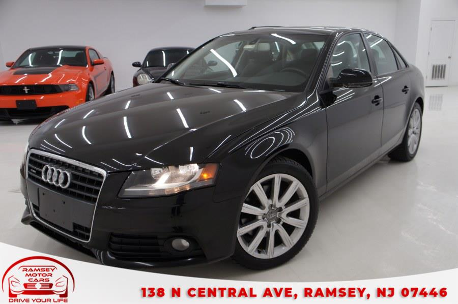 Used 2012 Audi A4 in Ramsey, New Jersey | Ramsey Motor Cars Inc. Ramsey, New Jersey