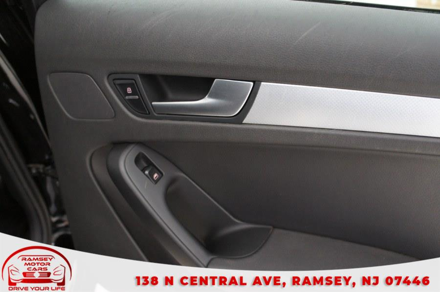Used Audi A4 4dr Sdn Auto quattro 2.0T Premium 2012   Ramsey Motor Cars Inc. Ramsey, New Jersey