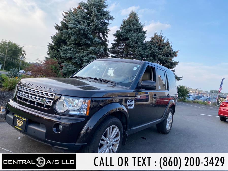 Used Land Rover LR4 4WD 4dr V8 LUX 2011 | Central A/S LLC. East Windsor, Connecticut