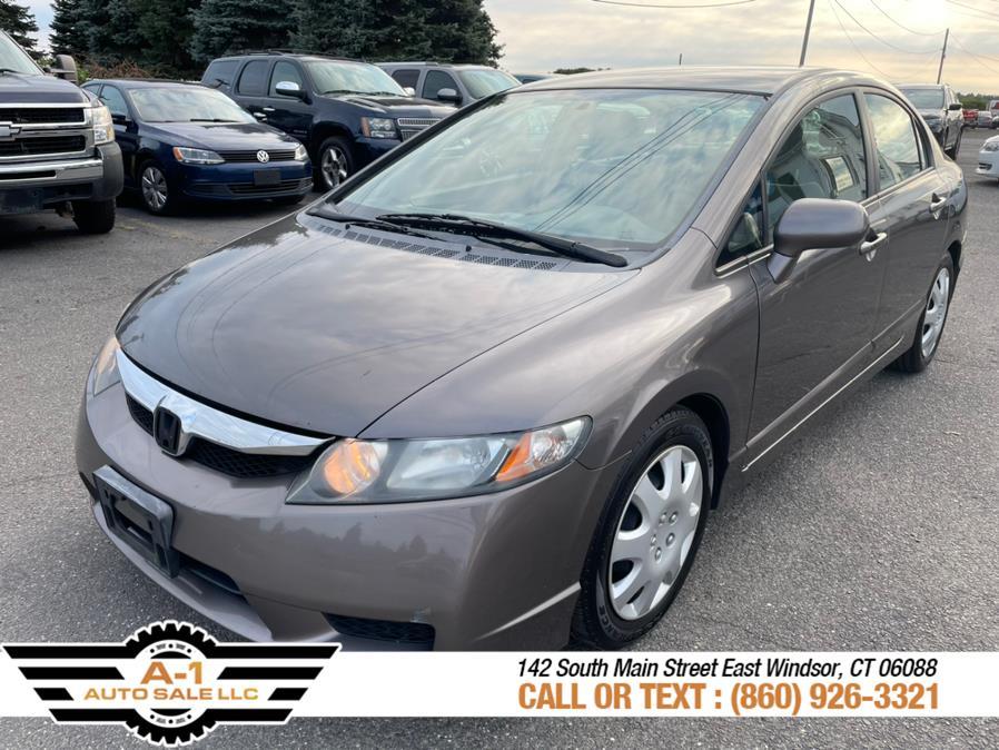 Used Honda Civic Sdn 4dr Auto LX 2009 | A1 Auto Sale LLC. East Windsor, Connecticut
