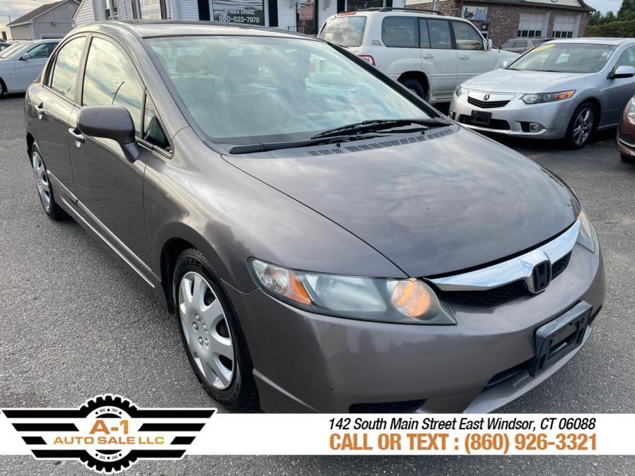Used 2009 Honda Civic Sdn in East Windsor, Connecticut | A1 Auto Sale LLC. East Windsor, Connecticut