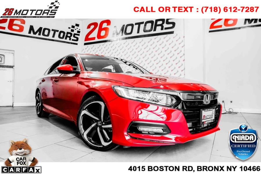 Used Honda Accord Sedan Sport 2.0T Auto 2019 | 26 Motors Corp. Bronx, New York
