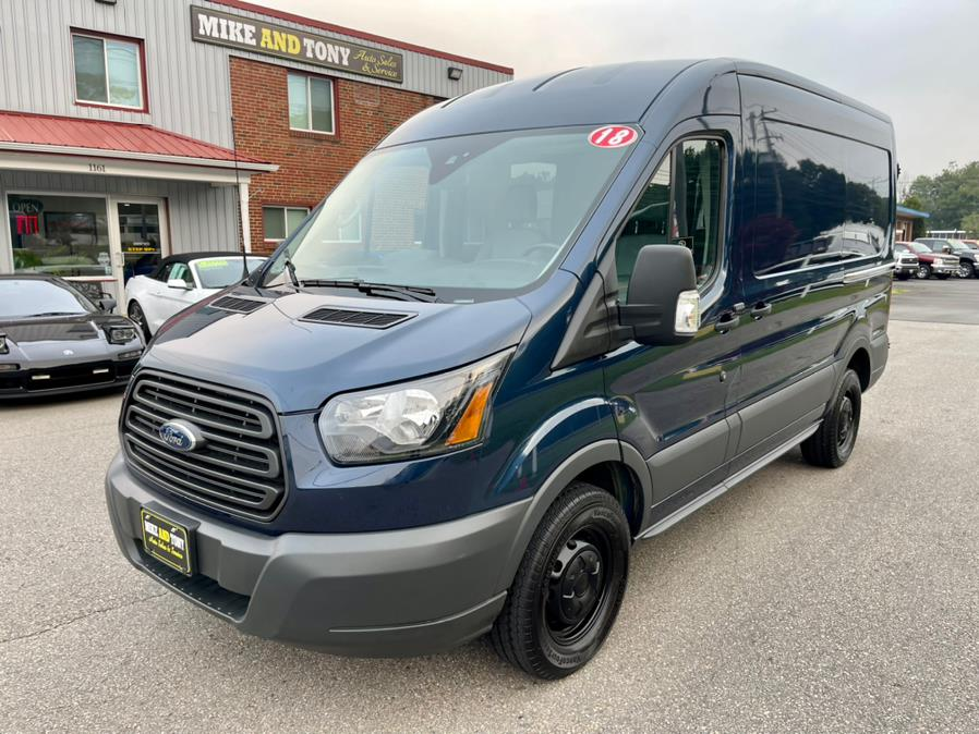 """Used Ford Transit Van T-250 130"""" Med Rf 9000 GVWR Dual Dr 2017   Mike And Tony Auto Sales, Inc. South Windsor, Connecticut"""