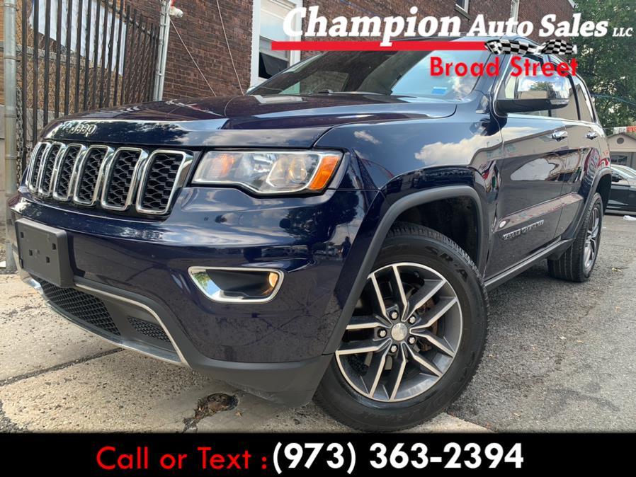 Used 2017 Jeep Grand Cherokee in Newark, New Jersey | Champion Used Auto Sales LLC. Newark, New Jersey