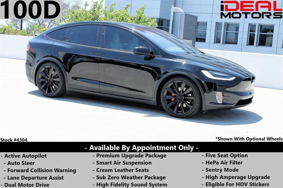 Used Tesla Model x 100D Sport Utility 4D 2018 | Ideal Motors. Costa Mesa, California