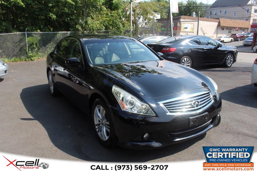 Used Infiniti G37 x 4dr x AWD 2010 | Xcell Motors LLC. Paterson, New Jersey