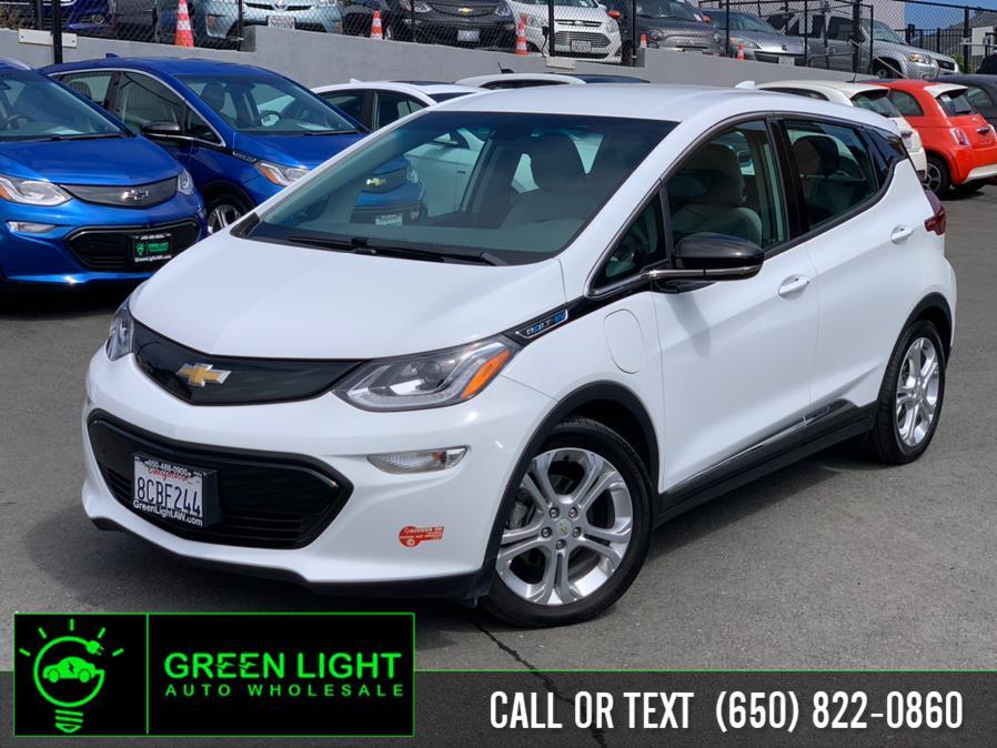 Used Chevrolet Bolt EV LT 2017   Green Light Auto Wholesale. Daly City, California