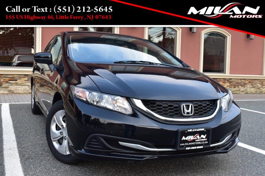 Used Honda Civic Sedan 4dr Man LX 2014   Milan Motors. Little Ferry , New Jersey