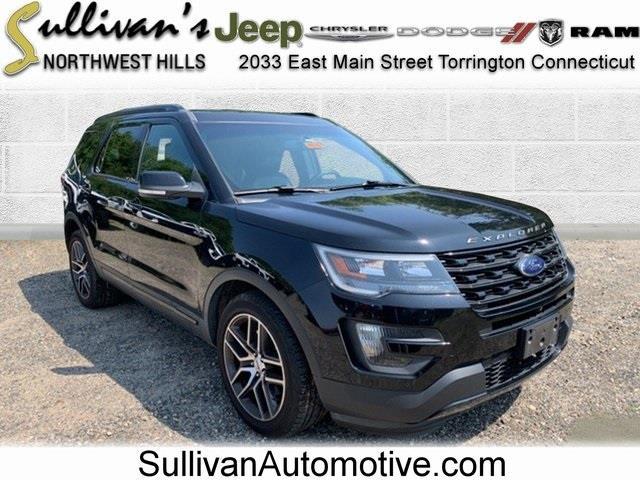 Used Ford Explorer Sport 2016   Sullivan Automotive Group. Avon, Connecticut