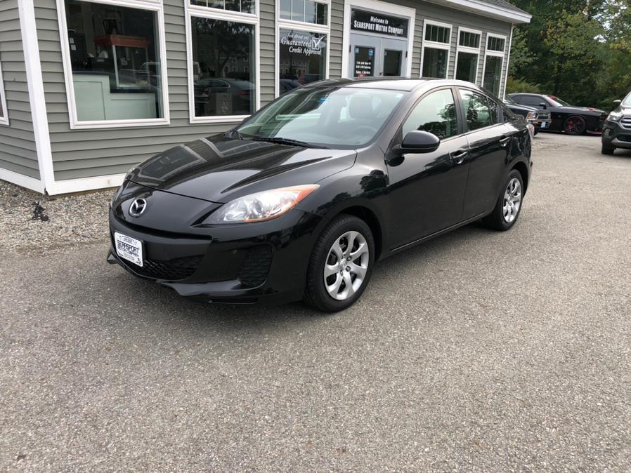 Used Mazda Mazda3 4dr Sdn Auto i SV 2013 | Searsport Motor Company. Searsport, Maine