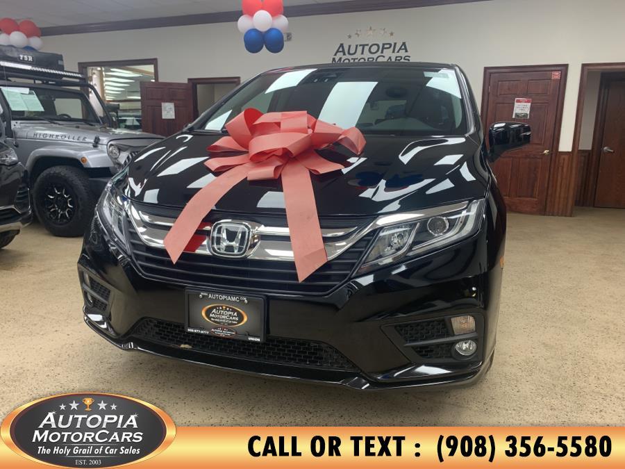 Used Honda Odyssey EX-L w/Navi/RES Auto 2018 | Autopia Motorcars Inc. Union, New Jersey