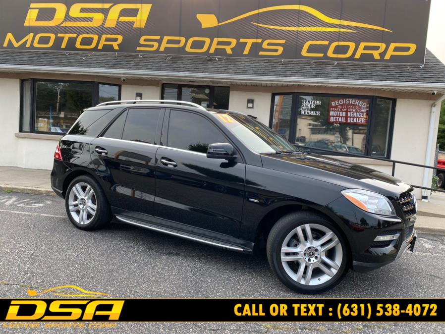 Used Mercedes-Benz M-Class 4MATIC 4dr ML 350 2012 | DSA Motor Sports Corp. Commack, New York