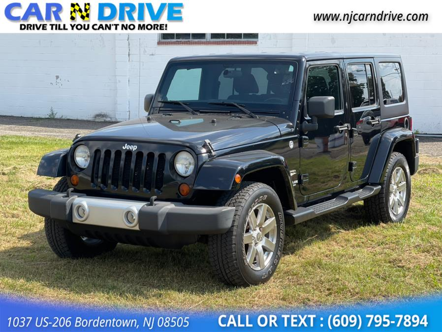 Used Jeep Wrangler Unlimited Sahara 4WD 2012   Car N Drive. Bordentown, New Jersey