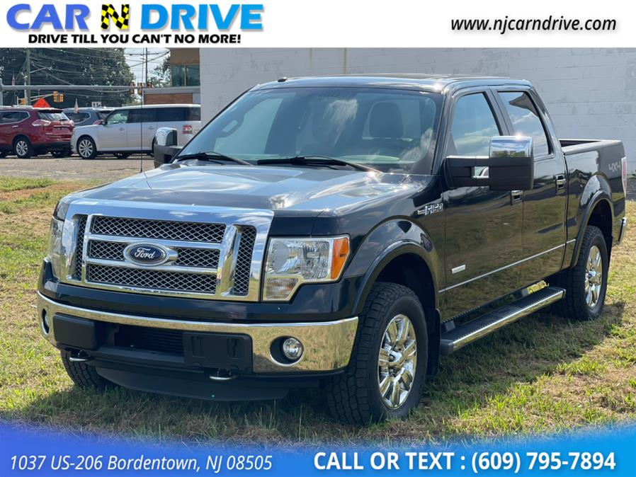 Used Ford F-150 Lariat SuperCrew 5.5-ft. Bed 4WD 2012 | Car N Drive. Bordentown, New Jersey