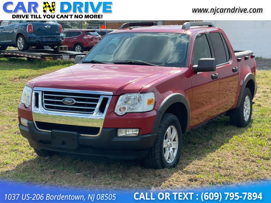 Used Ford Explorer Sport Trac XLT 4.0L 4WD 2010   Car N Drive. Bordentown, New Jersey