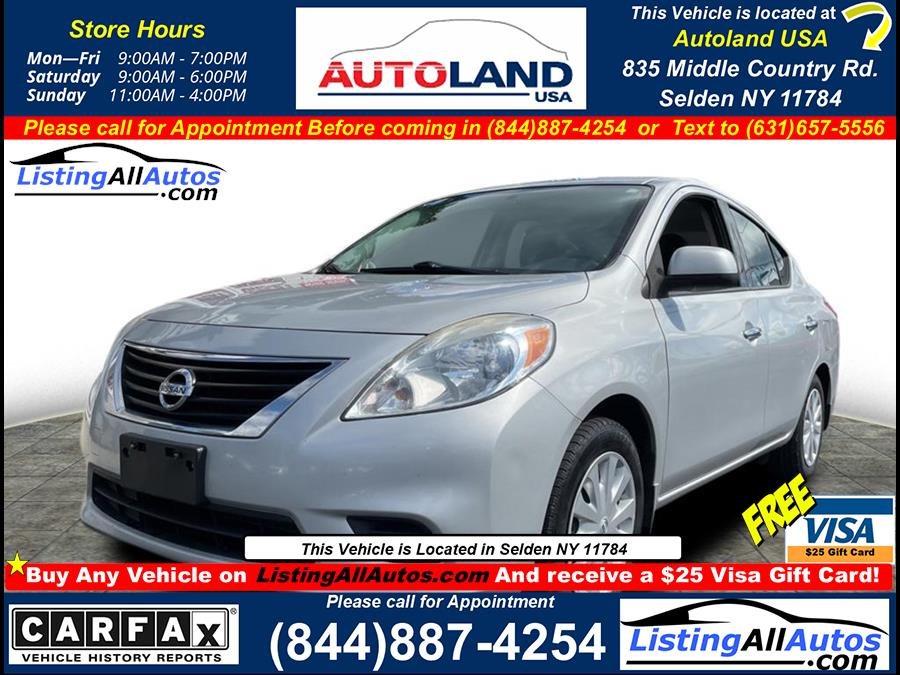 Used 2014 Nissan Versa in Patchogue, New York | www.ListingAllAutos.com. Patchogue, New York
