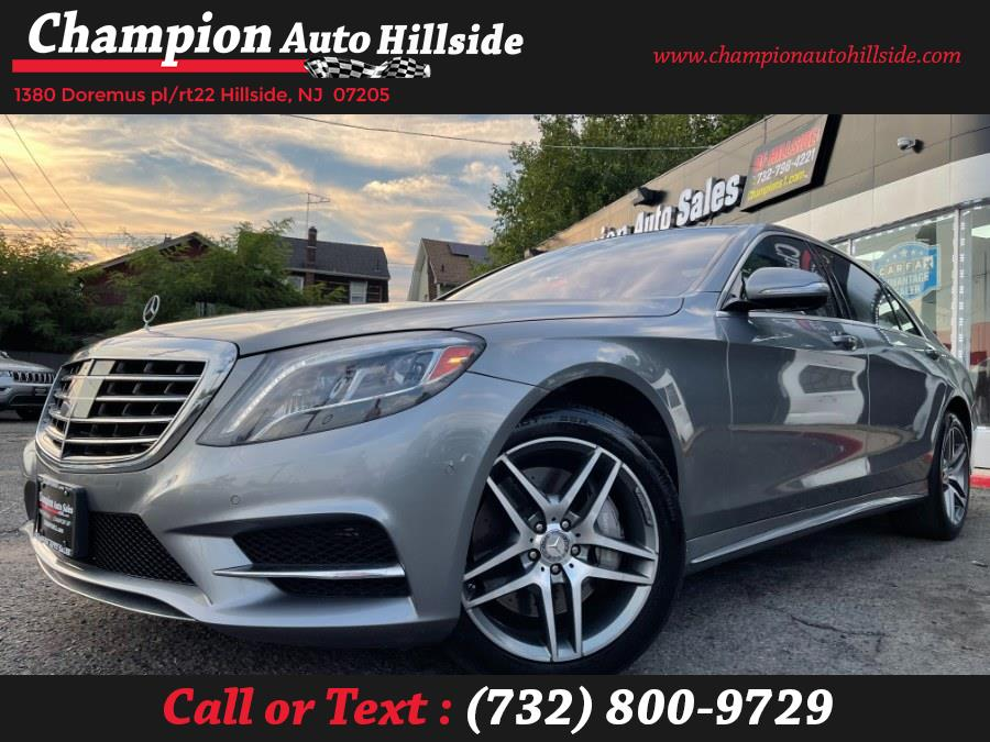 Used 2015 Mercedes-Benz S-Class in Hillside, New Jersey | Champion Auto Sales. Hillside, New Jersey