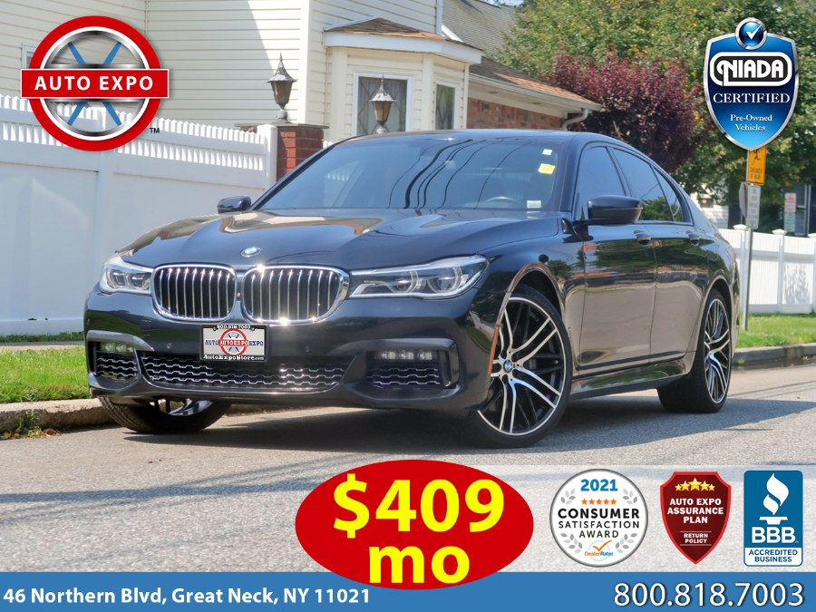 Used 2016 BMW 7 Series in Great Neck, New York | Auto Expo Ent Inc.. Great Neck, New York