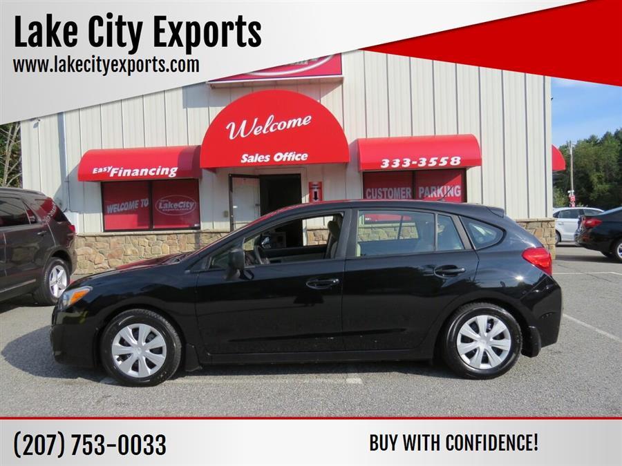 Used Subaru Impreza 2.0i AWD 4dr Wagon CVT 2014   Lake City Exports Inc. Auburn, Maine