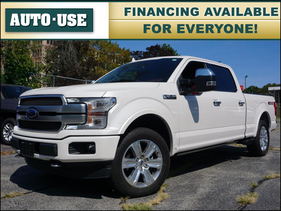 Used Ford F-150 Platinum 2019 | Autouse. Andover, Massachusetts