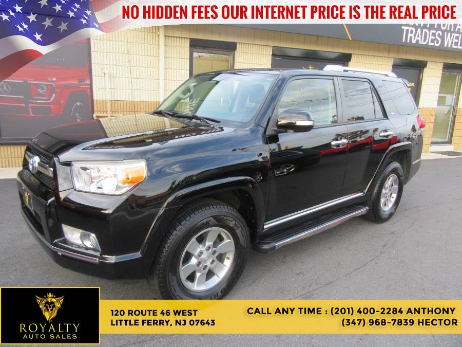 Used Toyota 4Runner 4WD 4dr V6 SR5 (Natl) 2012   Royalty Auto Sales. Little Ferry, New Jersey
