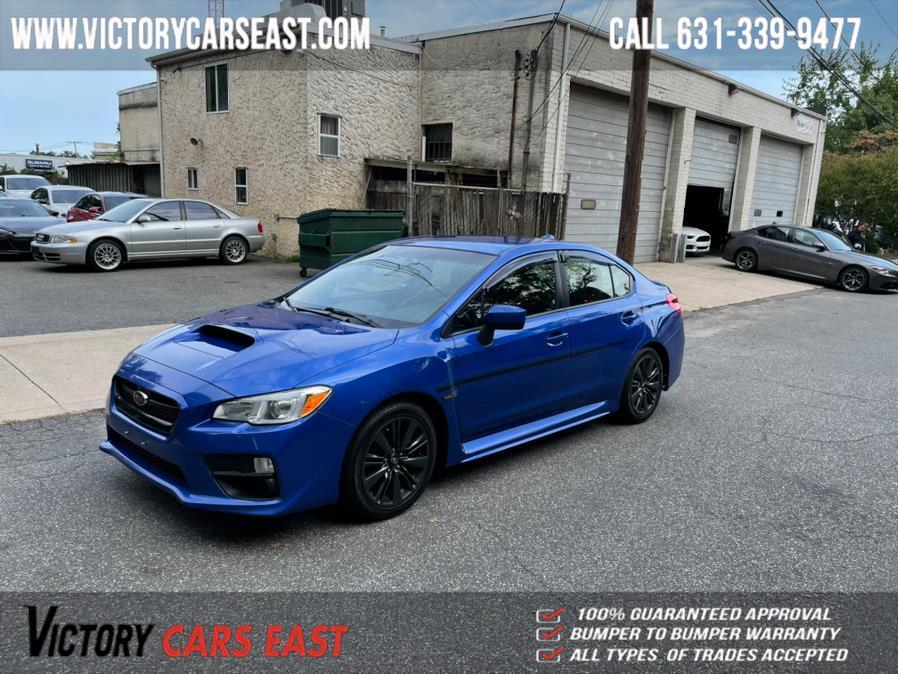 Used Subaru WRX Manual 2017   Victory Cars East LLC. Huntington, New York