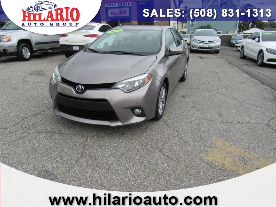 Used Toyota Corolla LE ECO Plus 2014 | Hilario's Auto Sales Inc.. Worcester, Massachusetts